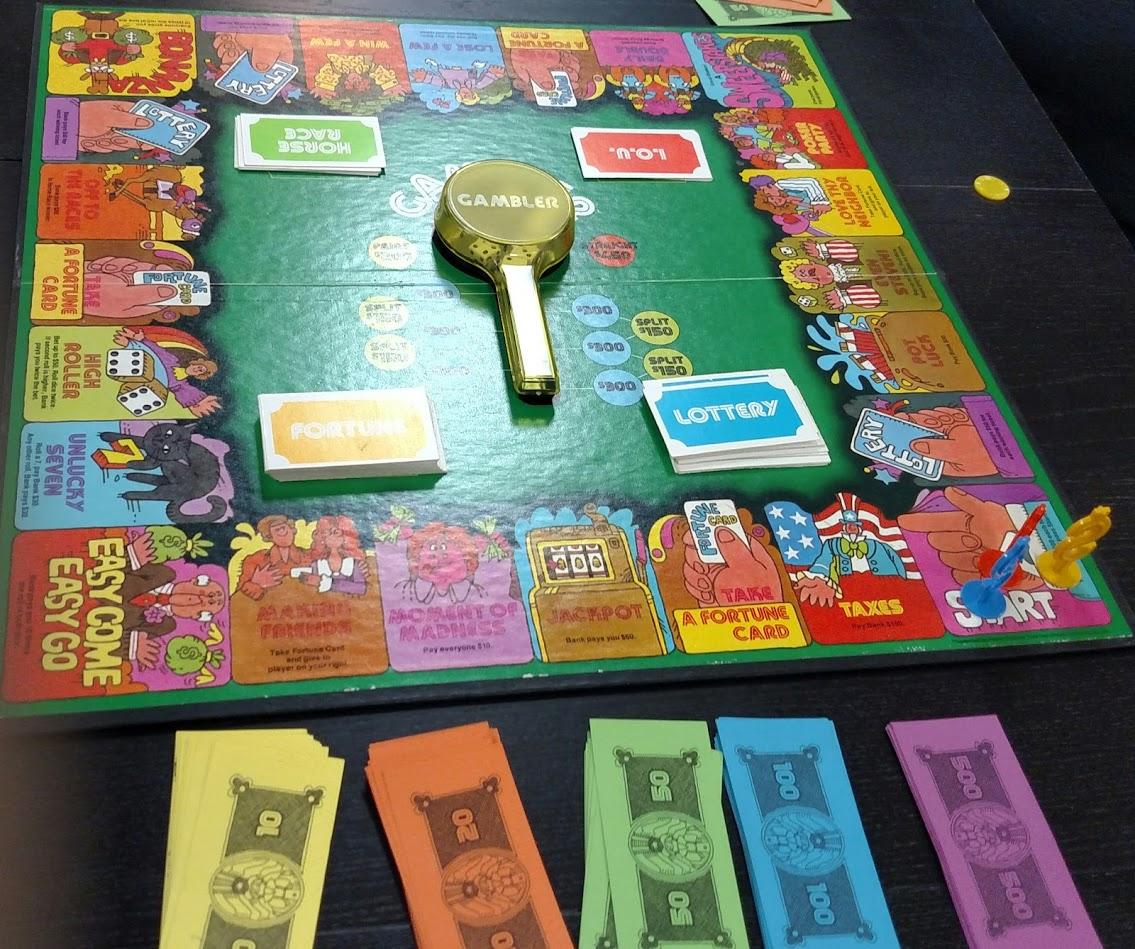 betting board game